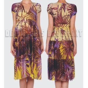 JEAN PAUL GAULTIER  Rainforest MESH empire dress M
